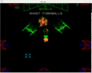 Star Wars + glowtrail